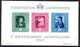 Liechtenstein Bloc-feuillet YT N° 8 Neuf ** MNH. TB. A Saisir! - Blocks & Kleinbögen