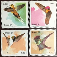 Brazil 1981 Hummingbirds Birds MNH - Birds