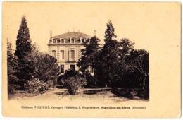 33 - B58176CPA - MARCILLAC DE BLAYE - Chateau Touvent, Georges Perrault - Bon état - GIRONDE - Non Classés