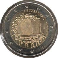 LU20015.3 - LUXEMBOURG - 2 Euros Commémo. Drapeau Européen - 2015 - Luxembourg