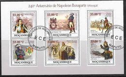MOZAMBIQUE 2009 NAPOLEON YVERT N°2674/79 OBLITERE - Napoleon