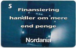 Denmark - Tele Danmark (chip) - Nordania - TDP178 - 10.1997, 1.000ex, 5kr, Used - Denmark