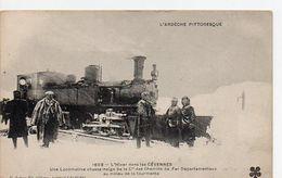 1603 - L'Hiver Dans Les Cévnnes - Une Locomotive Chasse-neige De La Cie Des Chemins De Fer Départementaux Au Milieu De L - Zubehör