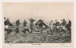KENIA MONBASA    TO THE CAMP  IVORY   PHOTOCARD - Beveren-Waas