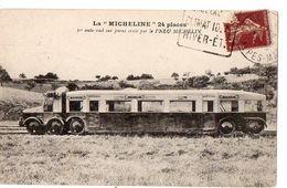"""La """"MICHELINE"""" 24 Places- 1ère Autorail Sur Pneus Créée Par Le PNEU MICHELIN - Zubehör"""