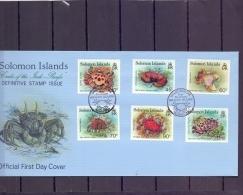 Solomon Islands -  Crabs Of The Indo - Pacific - FDSC - 15/1/1993   (RM12240) - Crustacés