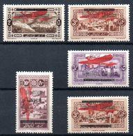 Grand Liban Gross-Libanon Luftpost Y&T (Maury)  PA 21* - PA 24*, PA 26* - Luftpost