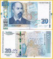 Bulgaria 20 Leva P-new 2020 UNC Banknote - Bulgarien