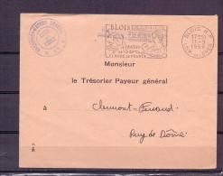 Rép. Française -  Blois - Le Chateau De Claude De France - 11/9/1959   (RM5713) - Cygnes