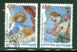 Vatican; Scott # 1075 + 1076; Usagés  (9152) - Vatican