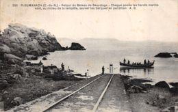 Ploumanach (22) - Retour Du Bateau De Sauvetage - Ploumanac'h