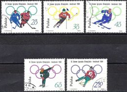 Poland 1964 - Mi 1457... - YT 1322... ( Innsbruck Olympics ) - 1944-.... République