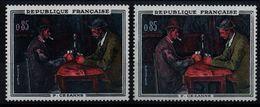 YT N° 1321 - Chiffres Rose + Normal -  Neufs ** - Varieties: 1960-69 Mint/hinged