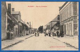 CPA 51 PLEURS - Rue De Connantre - Other Municipalities