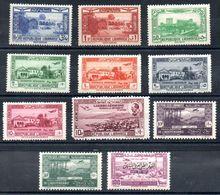 Grand Liban Gross-Libanon Luftpost Y&T (Maury)  PA 65* (57), PA 66* (72), PA 73** (78), PA 75* (67), PA 76* (68), ... - Luftpost