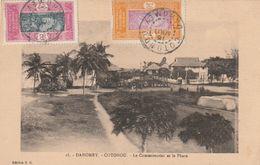 CPA - DAHOMEY - Cotonou , Le Commissariat Et Le Phare - - Dahomey