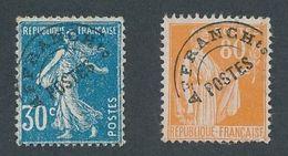 N-916: FRANCE: Lot Avec  Préo N°60-75 NSG - 1893-1947