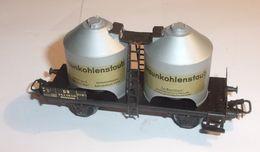 Wagon A Poussier 2 Essieux Braunkohlenstaub 4511 - Marklin - Alimentazione & Accessori Elettrici