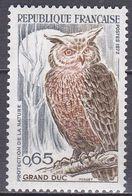 Frankreich 1972 - Mi.Nr. 1787 - Postfrisch MNH - Tiere Animals Vögel Animals - Eulenvögel