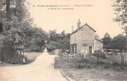 Forêt De SENART - Maison Forestière Et Route De Champrosoy - Brunoy - Sénart