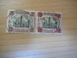 (23.06) BELGIE 1921  NR 188A  Mooie Afstempeling JODOIGNE - Oblitérés