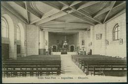 16 - B8922CPSM - ANGOULÈME - Ecole St Paul - Chapelle - Très Bon état - CHARENTE - Angouleme