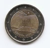 2011-ESPAÑA.MONEDA 2 EUROS.LA ALHAMBRA DE GRANADA. CIRCULADA  (FDC) (MBC) - España