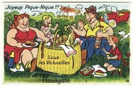 14 - B9332CPA - HOULGATE - Sous Les Victuailles, Vous Verrez….carte A Système - Très Bon état - CALVADOS - Houlgate