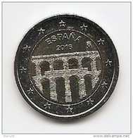 2016-MONEDA 2 EUROS. ACUEDUCTO DE SEGOVIA . SIN CIRCULAR- - España