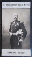 Général Raoul Marie Donop  -   Ecole Spéciale Militaire De Saint-Cyr   - 2ème Collection Photo Felix POTIN 1908 - Félix Potin