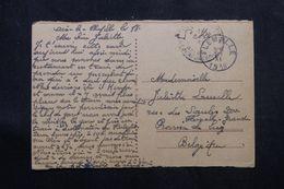 BELGIQUE - Carte Postale De Aix La Chapelle En FM En 1919 - L 64257 - Belgisch Leger