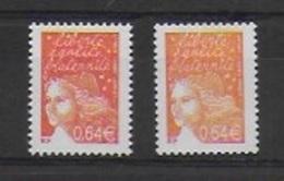 Marianne De Luquet - Variété Du N° Y & T 3452 - Errors & Oddities