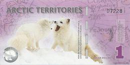 ARCTIC TERRITORIES 1 POLAR DOLLAR 2012 UNC - Banknoten