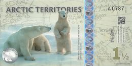 ARCTIC TERRITORIES 1 1/2 POLAR DOLLARS 2014 UNC - Billets
