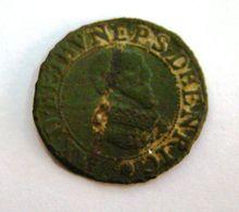 Monnaie De MAXIMILIEN De Béthune Prince Souverain D'Henrichemont_ An 1637_ Sous Louis XIII - 987-1789 Royal