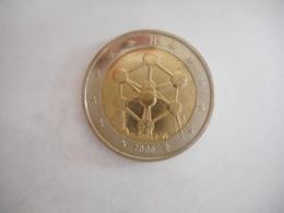 BELGIE 2006 ATOMIUM 2 EURO - Bélgica