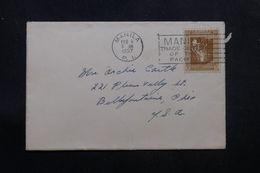 PHILIPPINES - Enveloppe De Manille Pour Les USA En 1937, Affranchissement Plaisant - L 64269 - Philippines