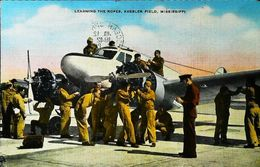 AIR CORP TECHNICAL SCHOOL  - KESSLER FIELD  - MISSISSIPPI   1940s  (Avion Aircraft Flugzeug) - Autres