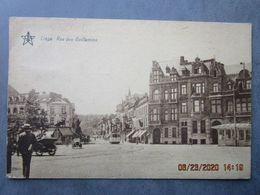 CPA Belgique  LIEGE  Le Tramway  Rue Des Guillemins - Café Victor Sacré écrite Et Timbrée édit J. Bellens 1931 - Liege