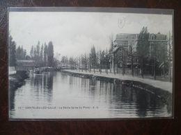 LAMBERSART- CANTELEU  La Deule Près Du Pont - Lambersart