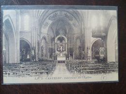 LAMBERSART- CANTELEU Intérieur De L'église   édit: L.P - Lambersart