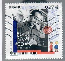 France 2020-5 Boris Vian - Oblitérés