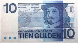 Pays-Bas - 10 Gulden - 1968 - PICK 91b - SUP+ - [2] 1815-… : Koninkrijk Der Verenigde Nederlanden
