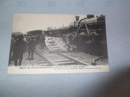 KONTICH: Spoorwegongeluk - Uitzicht Op De Vernielde Trein - Kontich