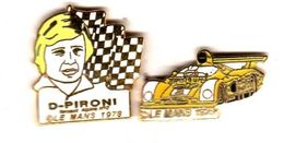 Pin's 24 Heures Du Mans 1978 D. Pironi Renault Alpine EGF  EMC - Pin