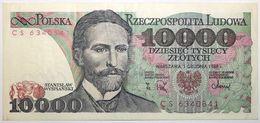Pologne - 10000 Zlotych - 1988 - PICK 151b - TTB+ - Pologne