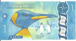 ANTARCTICA 1 DOLLAR 2015 UNC - Banknoten