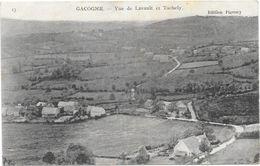 GACOGNE : VUE DE LAVAULT ET TACHELY - Frankreich