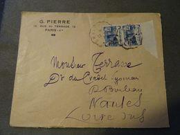 Lettre Avec Orphelins Surchargées Bord De Feuille 1930 ! - France