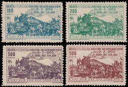 ✔️ Vietnam 1956 - Trains Railway Top Set ! Luxe ! - Mi. 31/34 (*) MNGAI - €160 - Vietnam